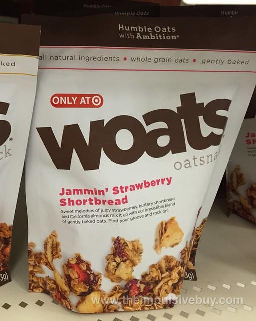 Woats Jammin' Strawberry Shortbread Oatsnack