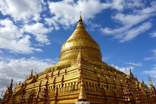 Golden temple Bagan