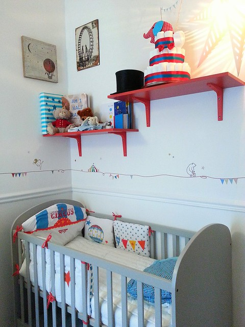 Paris Circus Inspired Nursery