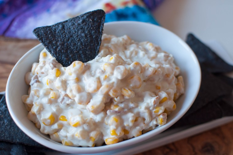 Bacon and Bleu Hot Corn Dip 6