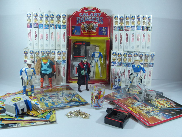 GALAXY RANGERS collection