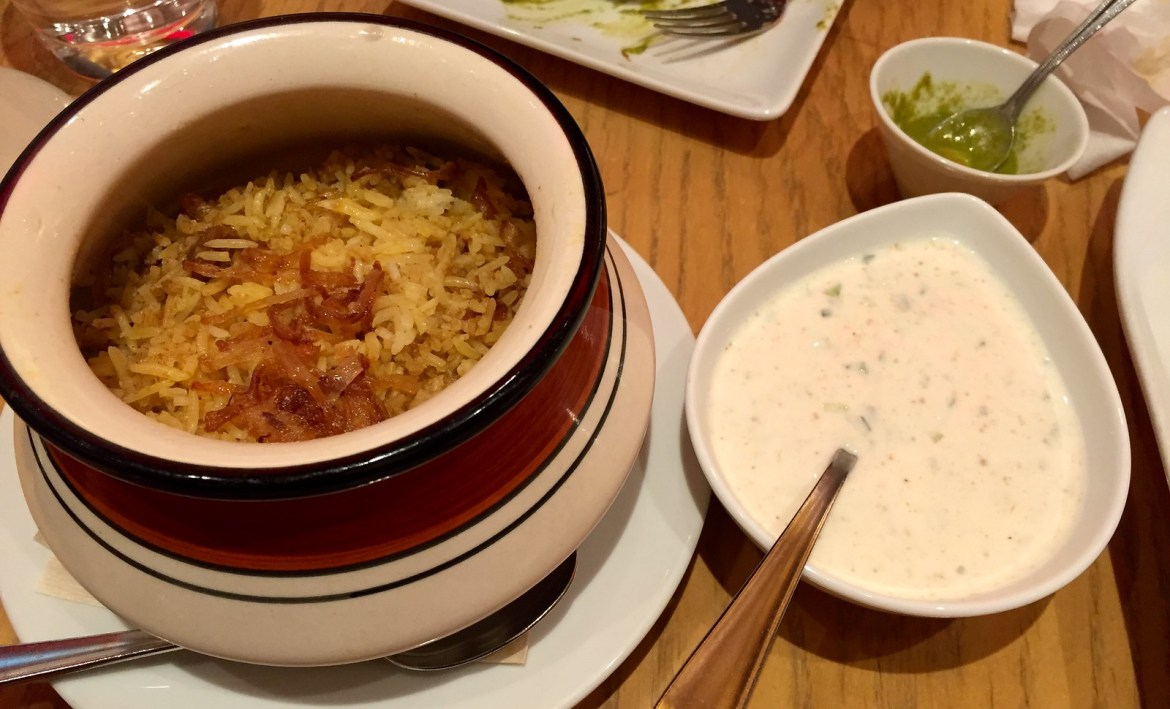 Roppongi hills enjoy authentic hyderabad chicken biryani for 7 hill cuisine of india sarasota