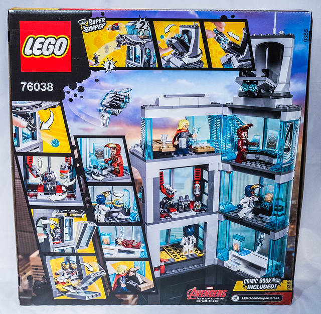 review lego 76038 marvel attack on avengers tower hellobricks blog lego. Black Bedroom Furniture Sets. Home Design Ideas