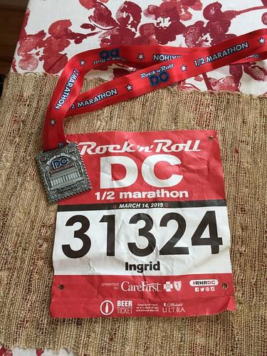 Rock n roll dc half marathon
