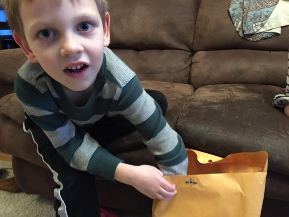 Opening the March Envelope (3/5/15)