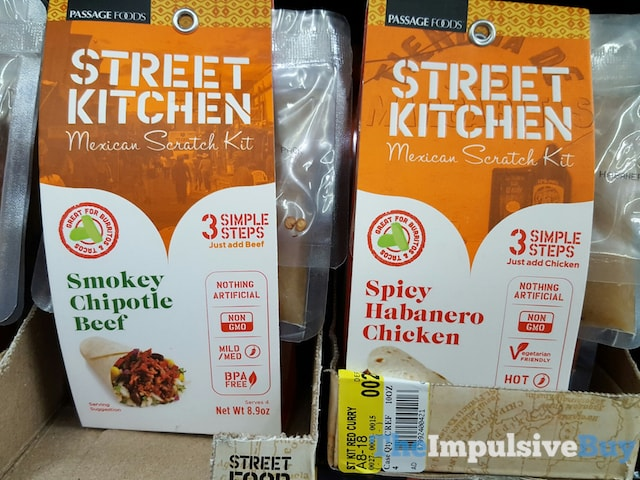 Passage Foods Street Kitchen Mexican Scratch Kit (Smokey Chipotle Beef and Spicy Habanero Chicken)