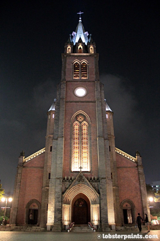 29 Sep 2014: Myeongdong Cathedral 명동성당   Seoul, South Korea