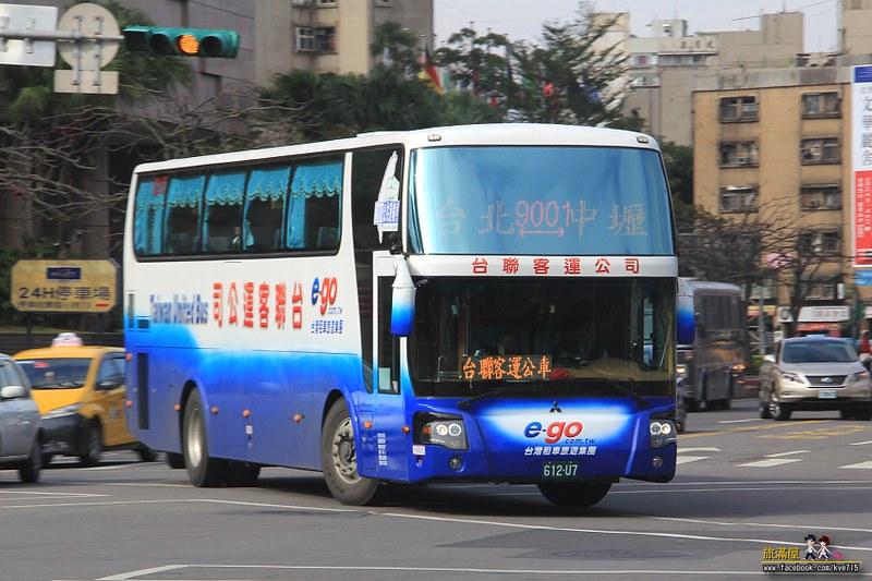 旅滿屋: [臺北]臺聯客運FUSO新車上路