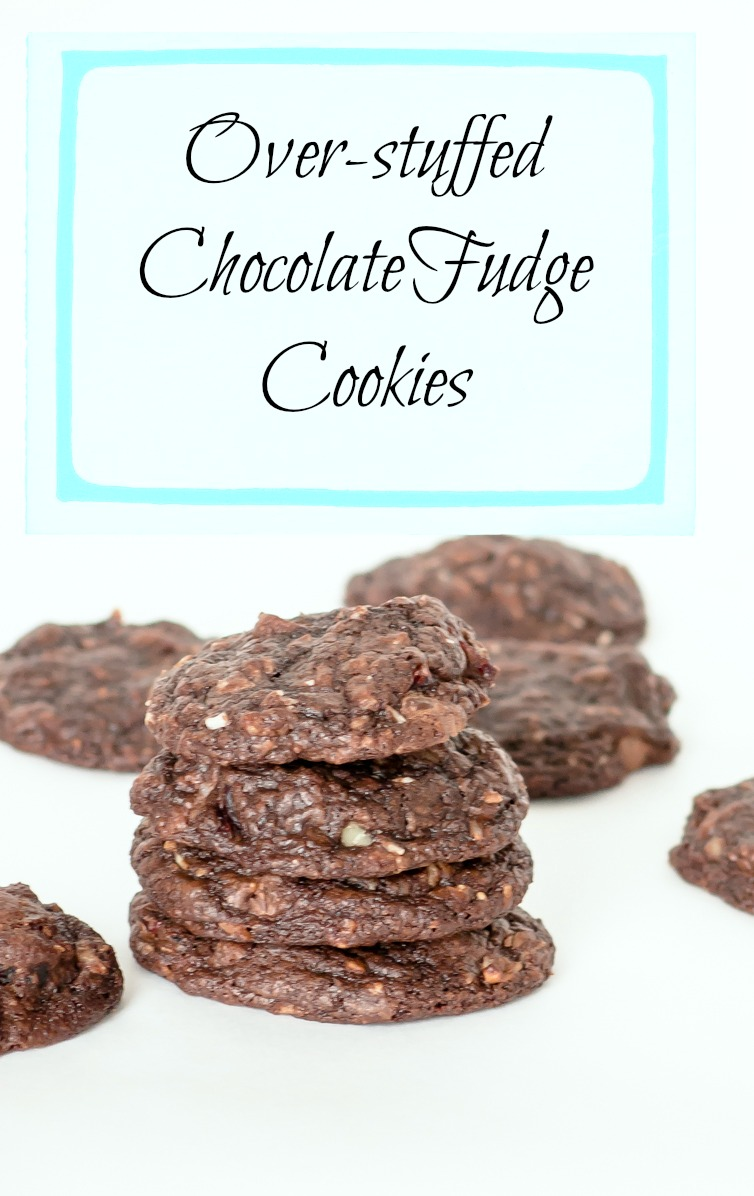 Over-stuffed Chocolate Cookies