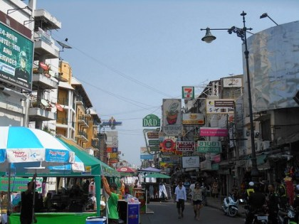 Khao San Road, daytime, Thailand