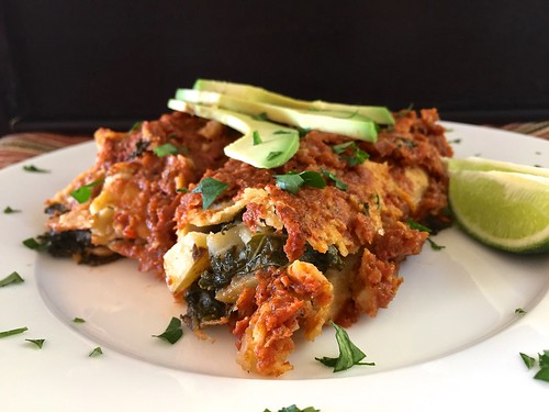 potato kale enchiladas