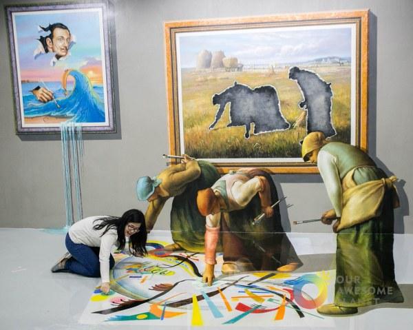 3D Art Museum Island in Philippines
