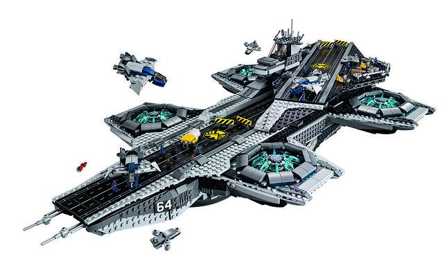 LEGO Avengers Helicarrier