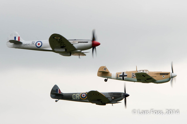 Buchon and Spitfires