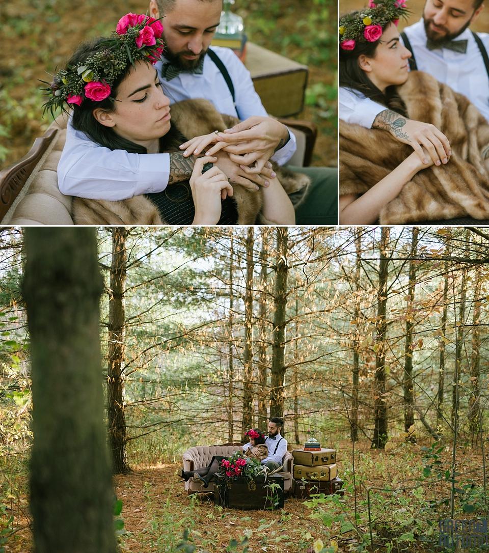 Wedding Creative Inspiration Hamilton Woodland engagement Photography 0017