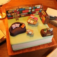 18 bolos pra comer no dia do bibliotecário
