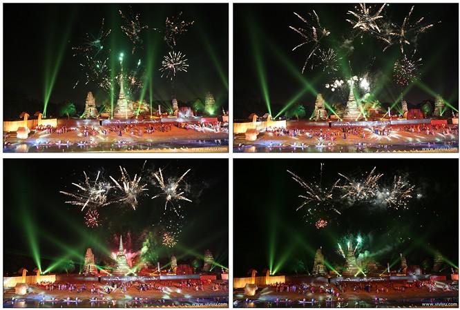 大城,大城府世界遺址節,市集,帕席桑碧寺&帕蒙空博碧大皇宮,曼谷,曼谷景點行程,泰國 @VIVIYU小世界