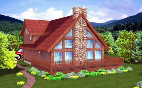 Modern A Frame House