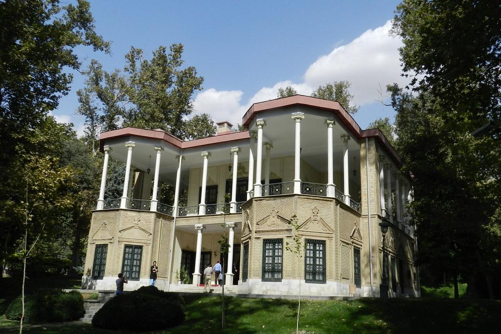 Pabellon Ahmad Shahi Palacio Museo Niavaran Teheran Iran 01
