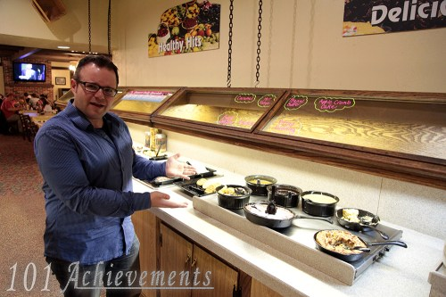 Michael's First Visit to Hoss's