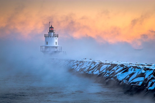 Spring Point Ledge Sea Smoke