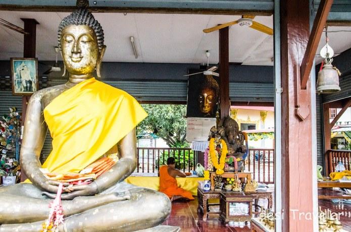 Ganesha in Buddhist Temple Thailand