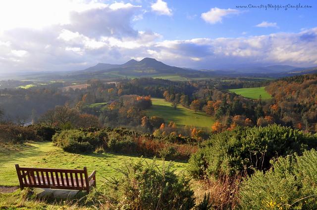 Scotts View in Autumn, Scottish Borders