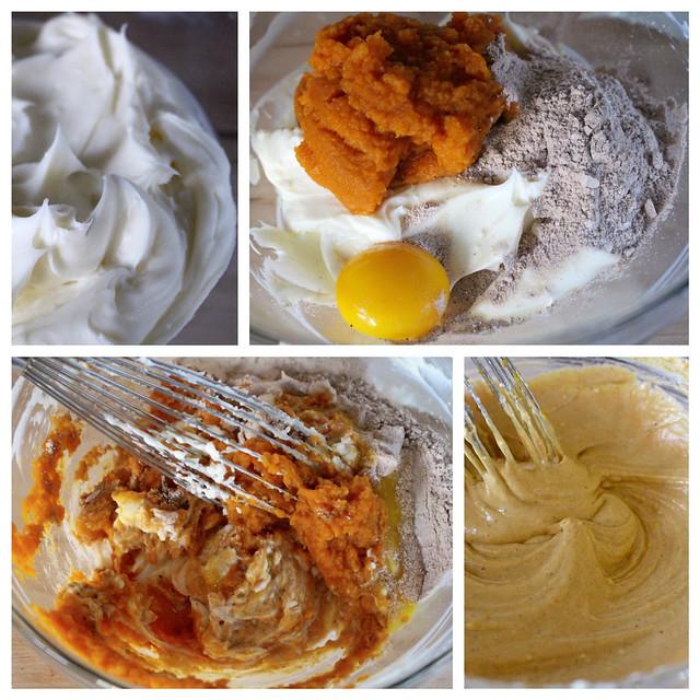 Pumpkin Swirl Cheesecake Brownies - 37