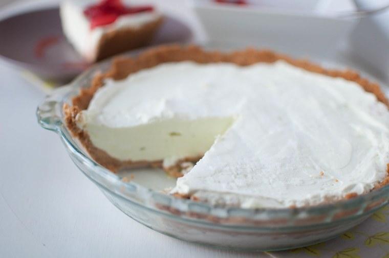 Lime Yogurt Pie 5