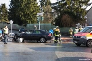 Verkehrsunfall Bierstadter Höhe/B455 24.02.15