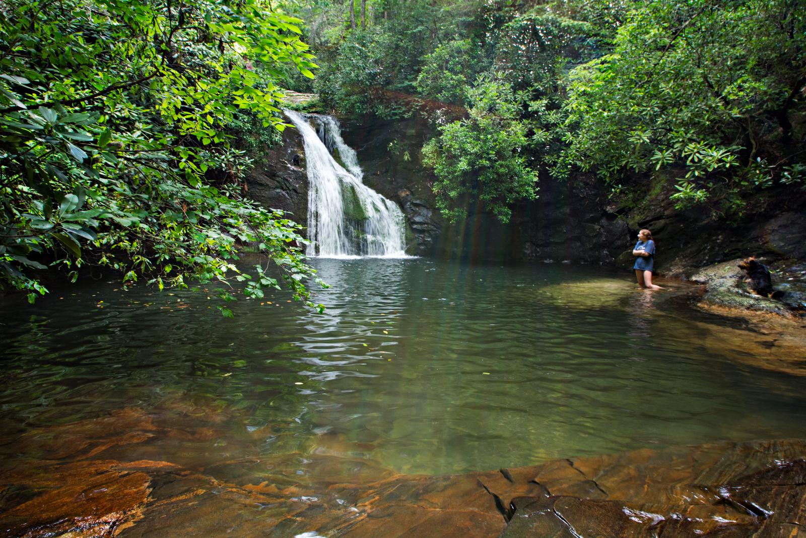 Lake Chatuge Waterfalls