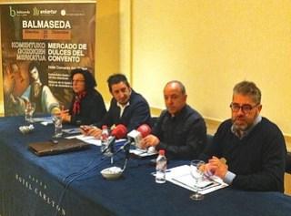 Un momento de la presentación, en el Hotel Carlton, de Bilbao.
