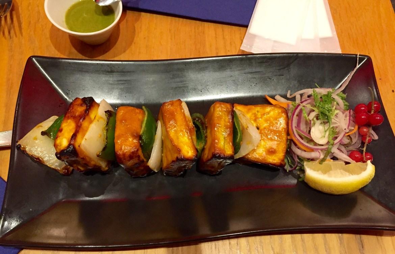 Paneer at Indian restaurant Diya