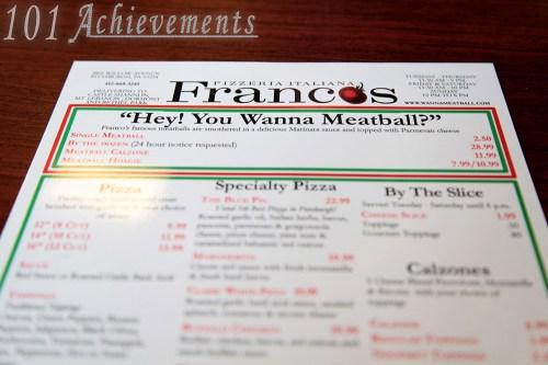 Franco's Meatball