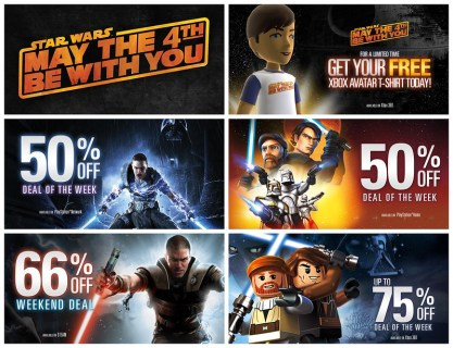 STAR WARS™ May The 4th Promos