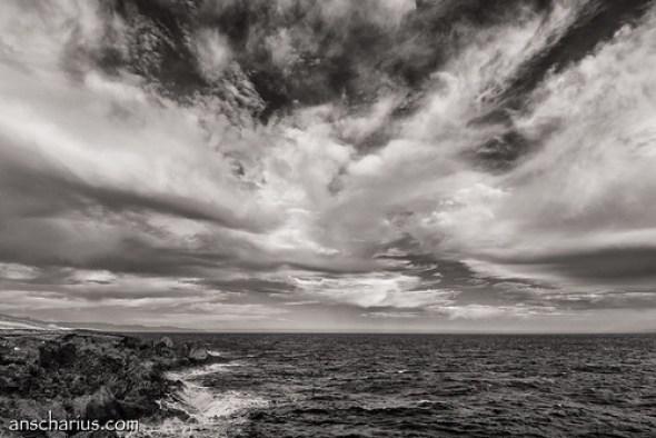 Coastline near Abades - Nikon 1 V1 - Infrared 700nm