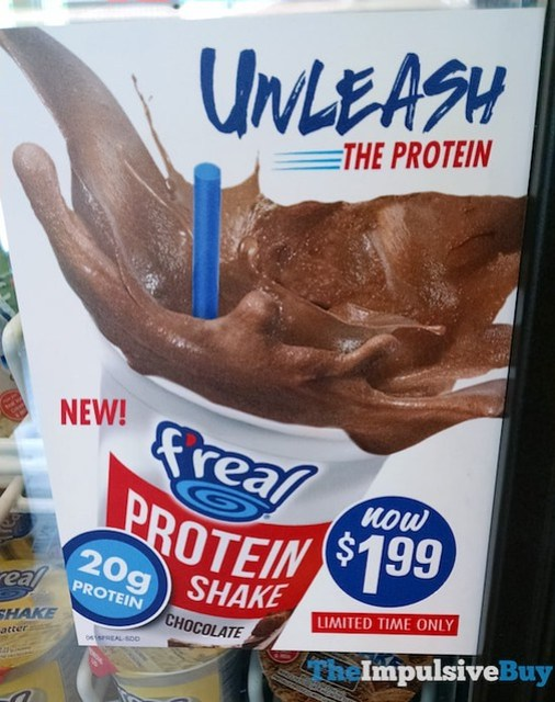 F'real Chocolate Protein Shake