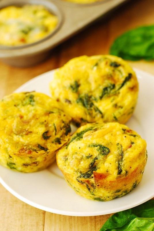 ricetta proteica: mini muffin albumi d'uovo e pancetta di tacchino