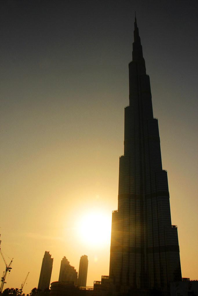 Burj khalifa i Dubai