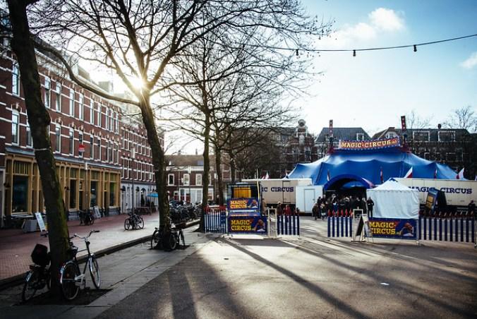 Rotterdam: Magic Circus op Deliplein