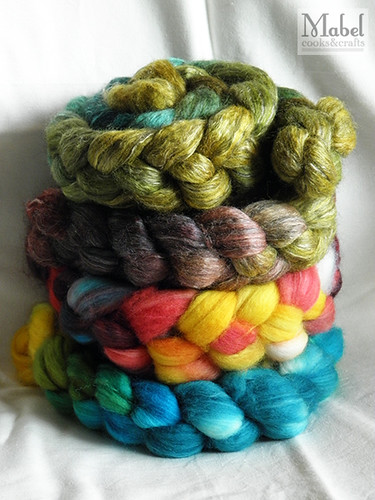 First batch of handdyed yummies in three years!