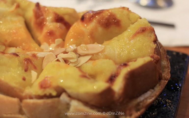Seobinggo - GoGuMa Cheese Toast (ขนมปังปิ้งด้านบนเป็นมันหวานกับชีส)