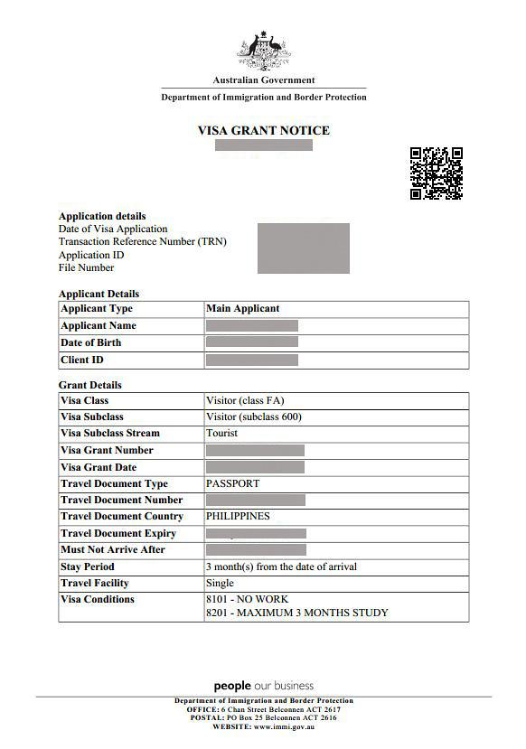 Application Letter For Visa, Check Out Application Letter