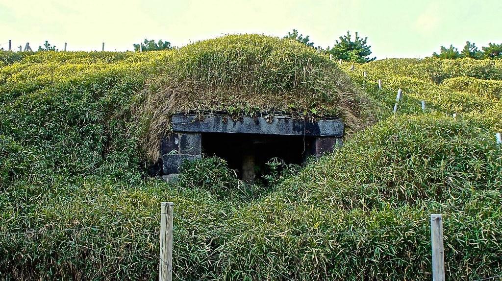 Third Daiba bunker ruins