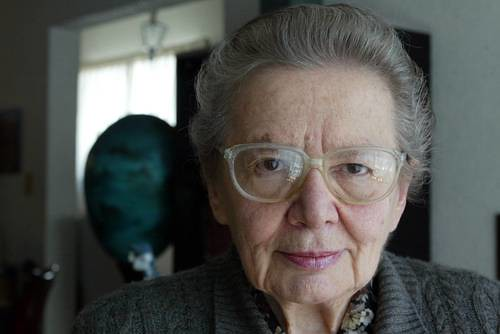 Argentina de origen, Raquel Tibol se naturalizó mexicana en 1961 Foto José Antonio López