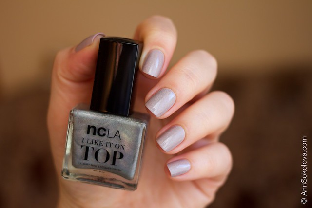 07 NCLA   I Like It On Top   Shimmer Me Pretty + Morgan Taylor   Magician's Assistant sunlight