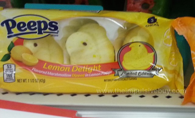 Peeps Limited Edition Lemon Delight