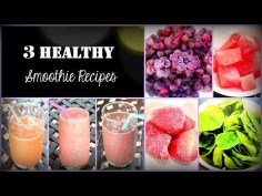 Fast and Healthy Smoothie Recipes
