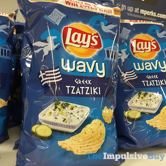 Lay's Wavy Greek Tzaziki Potato Chips