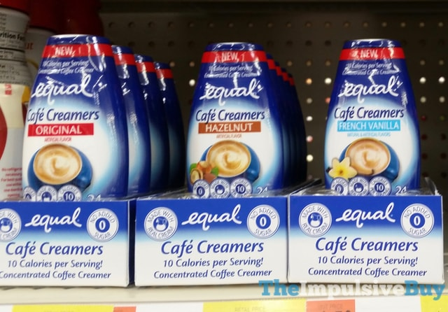 Equal Cafe Creamers (Original, Hazelnut, and French Vanilla)